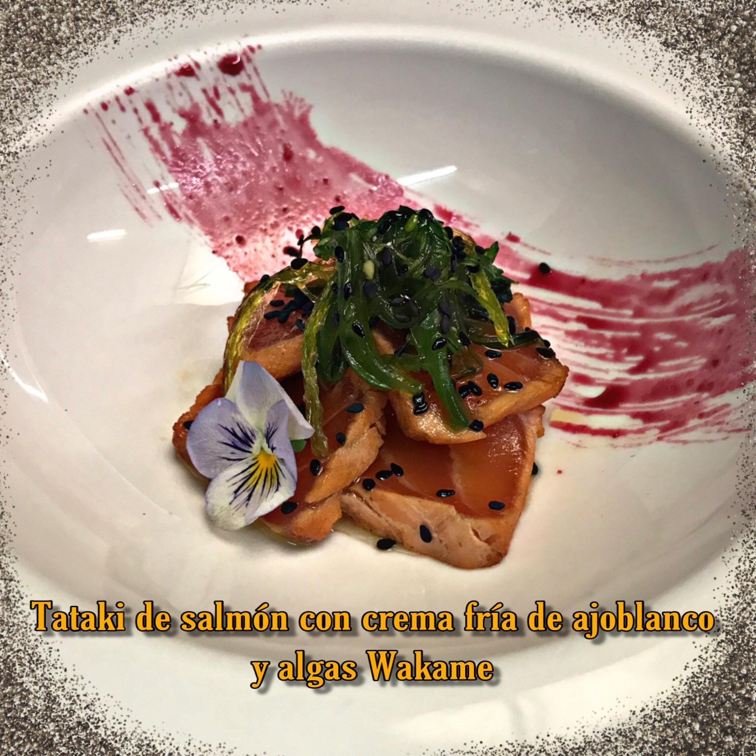 1-Tataki de salmon